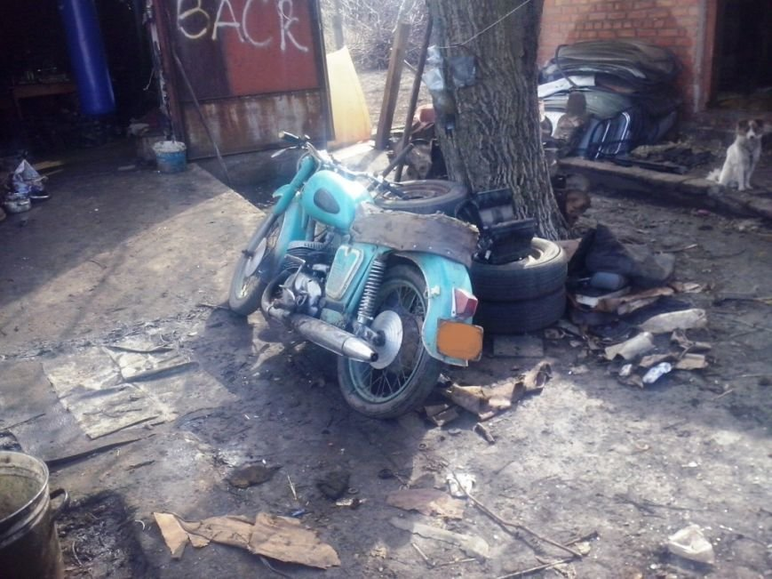 На Кировоградщине работники ГАИ раскрыли незаконное завладение мотоциклом. ФОТО (фото) - фото 1