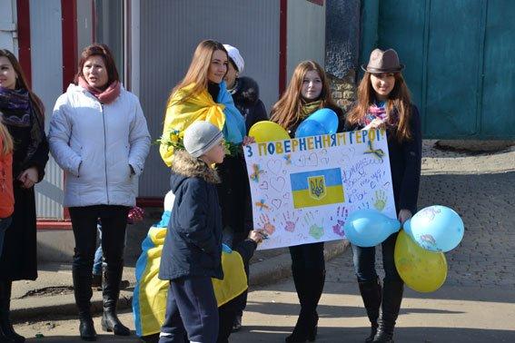 До Львова із зони АТО повернулись наші бійці (фото) - фото 5