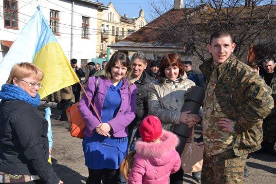 До Львова із зони АТО повернулись наші бійці (фото) - фото 3