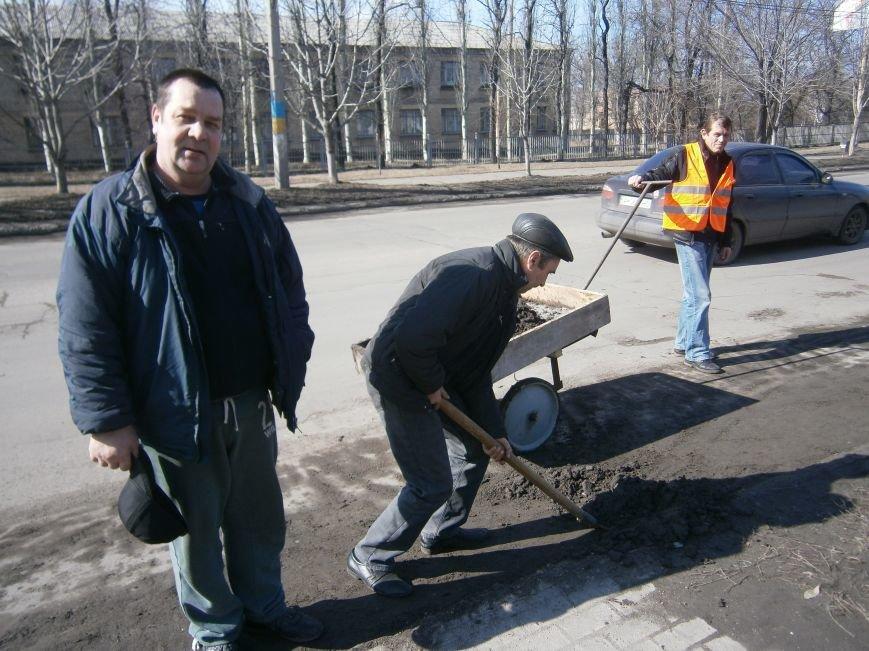 Димитровские предприятия начали весеннюю уборку закрепленных территорий (фото) - фото 1