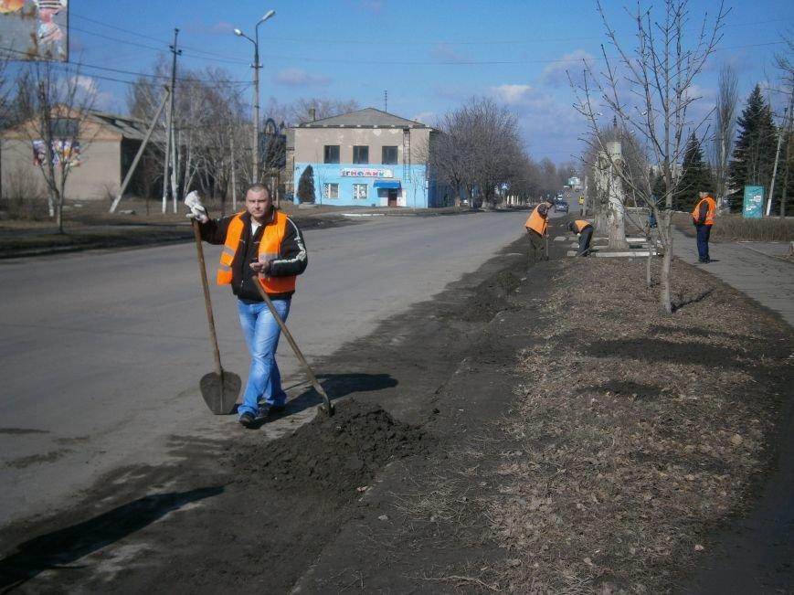 Димитровские предприятия начали весеннюю уборку закрепленных территорий (фото) - фото 2
