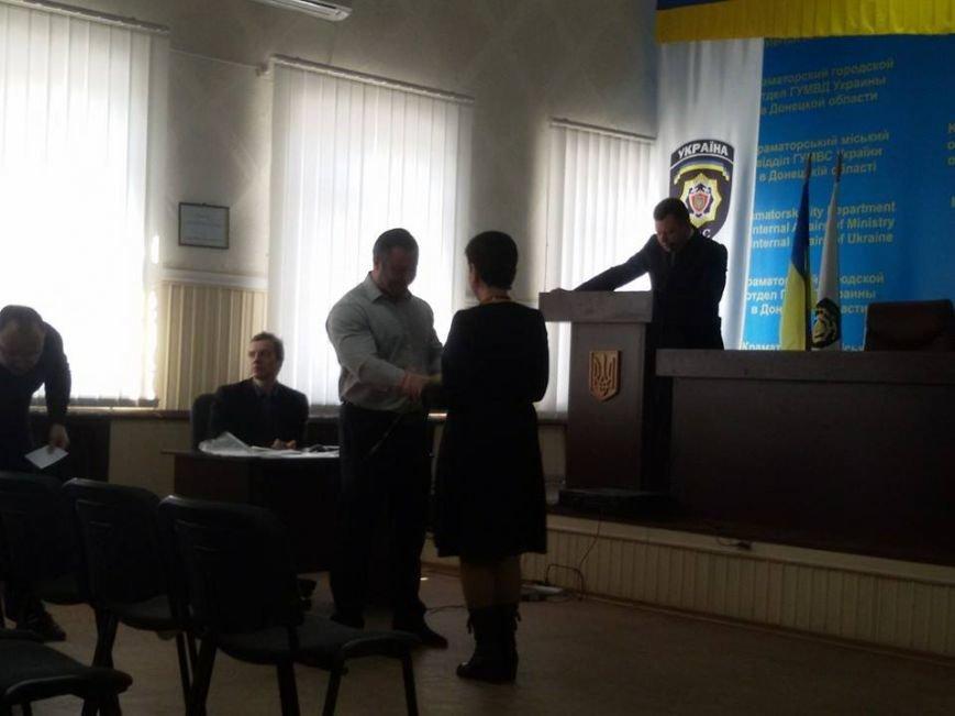 Краматорские милиционеры поздравили с 8 Марта женщин-ветеранов, фото-2