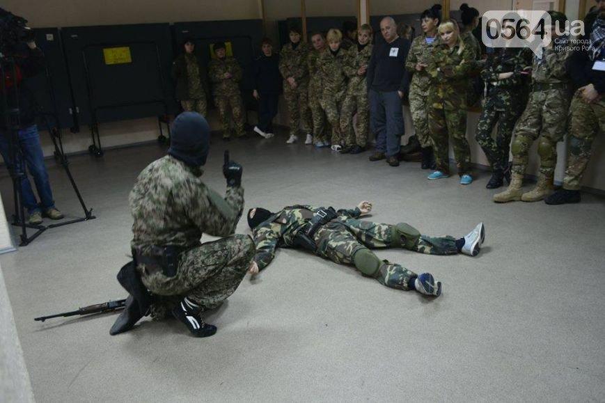 В Кривом Роге: обучали тактической медицине, проверили бомбоубежища, отметили 201-ую годовщину со Дня рождения Кобзаря (фото) - фото 1