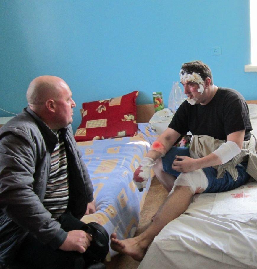Сегодня от взрыва пострадали два красноармейских спасателя (ФОТО), фото-6