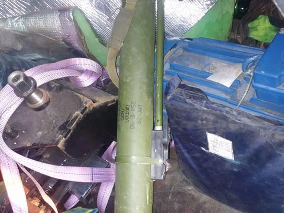 На Полтавщині співробітники ДПС затримали водія, який віз гранатомет (ФОТО) (фото) - фото 1