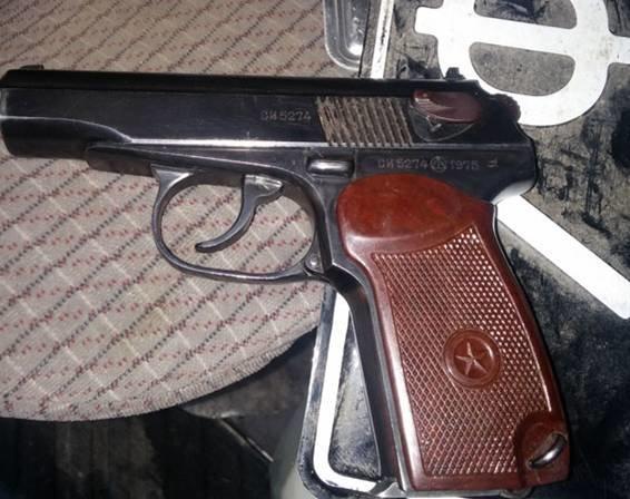 На Полтавщине задержан автомобиль с оружием (ФОТО) (фото) - фото 1