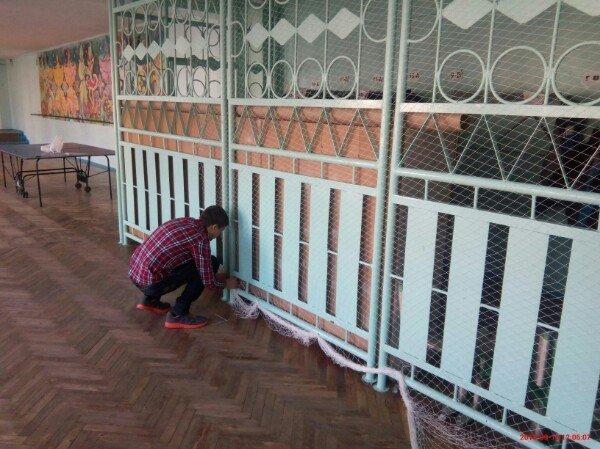 В Запорожье школьники плетут «кикиморы» для украинских бойцов (ФОТО), фото-3