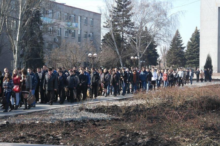 В Красноармейске отметили годовщину смерти Тараса Шевченко, фото-5
