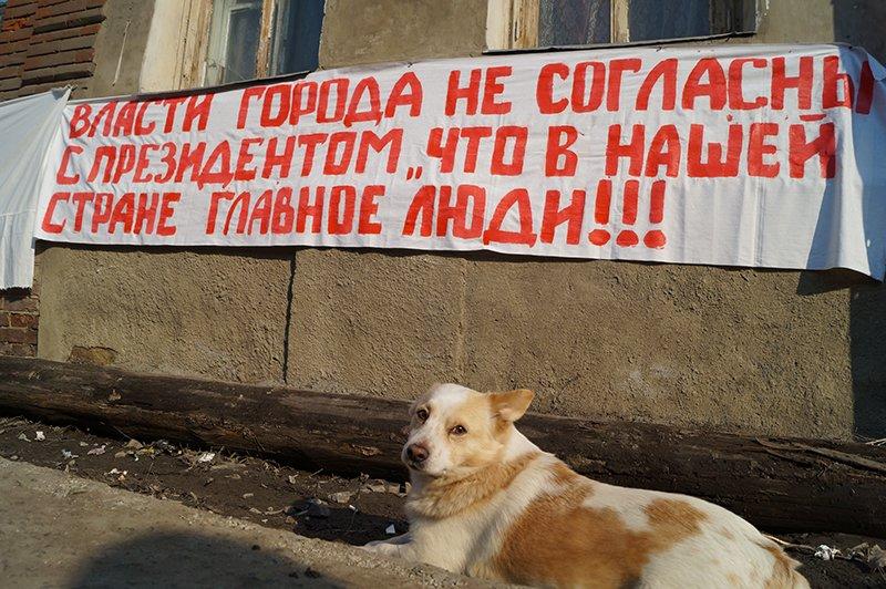 В Белгороде последние нерасселённые жильцы домов с улицы Победы начали голодовку (фото) - фото 3