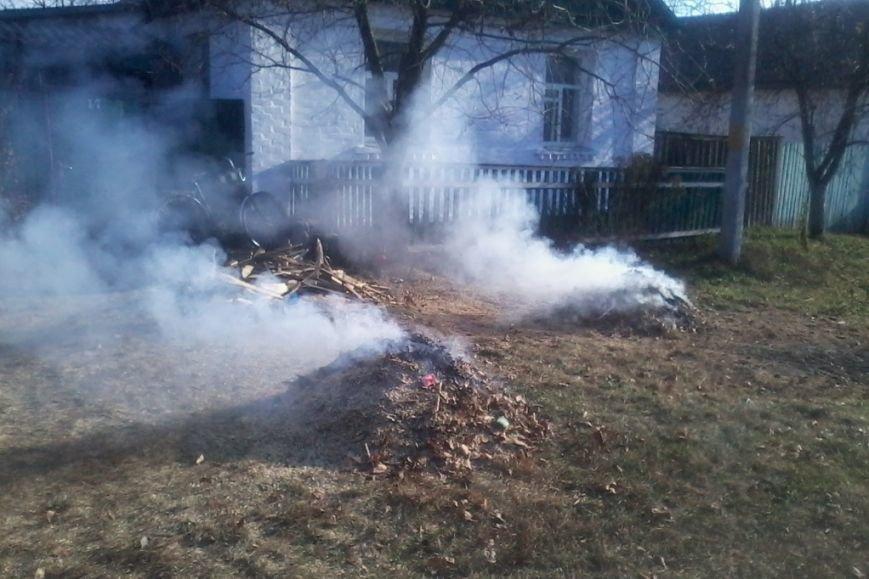 Пожары из-за сжиганий мусора и травы охватили Черниговщину (фото) - фото 2