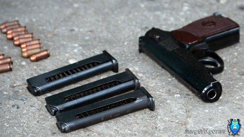 У мариупольцев изъяли взрывчатку, пистолеты и гранаты (ФОТО), фото-1