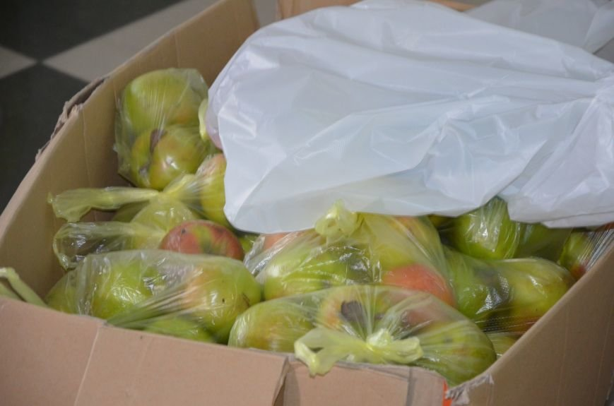 Жителям прифронтовых Чермалыка и Лебединское вблизи Мариуполя доставили гуманитарную помощь (ФОТО), фото-6