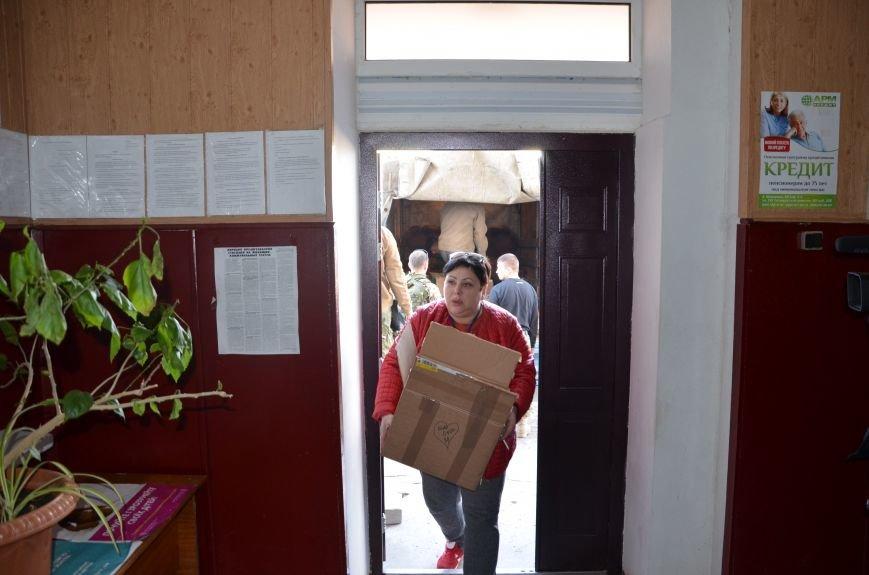 Жителям прифронтовых Чермалыка и Лебединское вблизи Мариуполя доставили гуманитарную помощь (ФОТО), фото-15