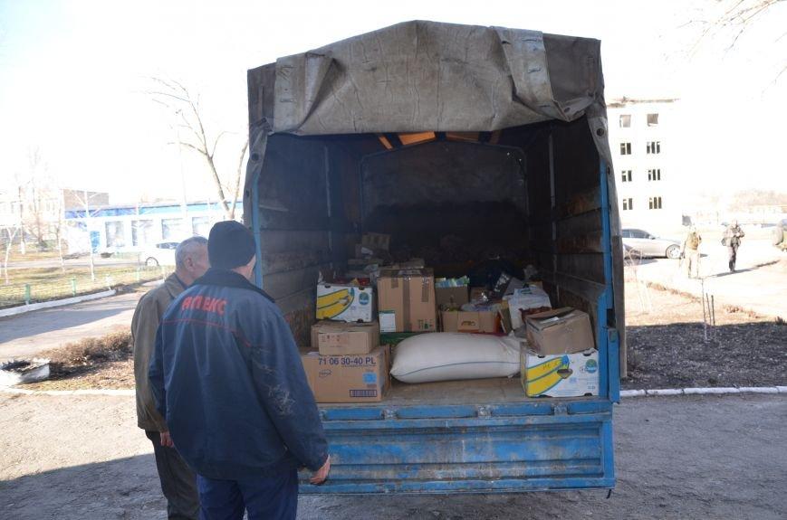 Жителям прифронтовых Чермалыка и Лебединское вблизи Мариуполя доставили гуманитарную помощь (ФОТО), фото-13