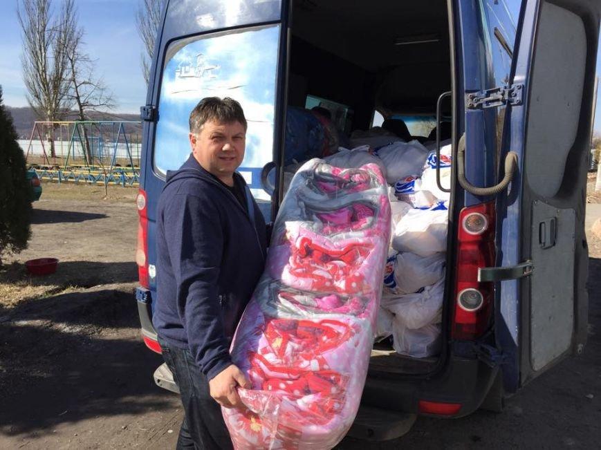 Волонтеры везут в Авдеевку гуманитарную помощь (фото), фото-2