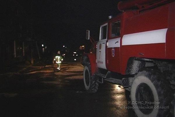 Як рятувальники гасили масштабну пожежу готелю на Тернопільщині (відео, фото) (фото) - фото 1