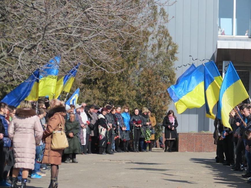 В Мангуше провели в последний путь бойца «Донбасса» (ФОТО) (фото) - фото 1