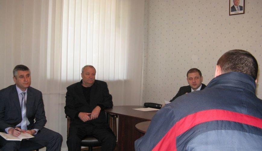 Прокурор Полтавської області Ян Стрелюк відвідав чоловічу Полтавську виправну колонію (№64) (фото) - фото 2