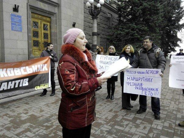 Пикет под николаевской мэрией превратился в поэтические чтения (ФОТОФАКТ) (фото) - фото 3