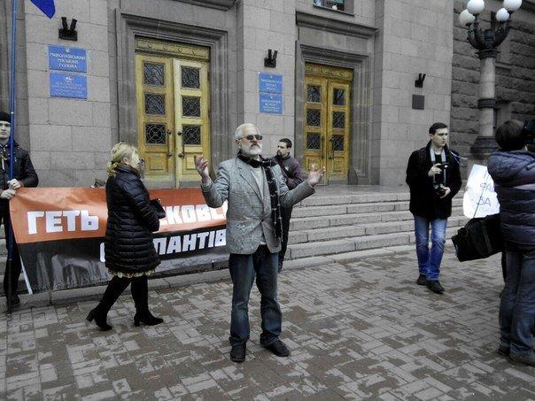 Пикет под николаевской мэрией превратился в поэтические чтения (ФОТОФАКТ) (фото) - фото 2