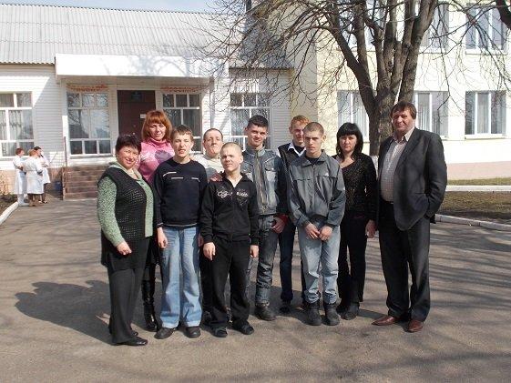 Из Донецкой области прибыли шесть детей-инвалидов (фото) - фото 1