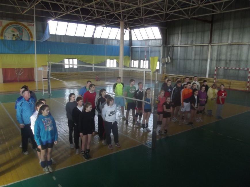 В Родинском состоялся городской турнир по волейболу (фото) - фото 1