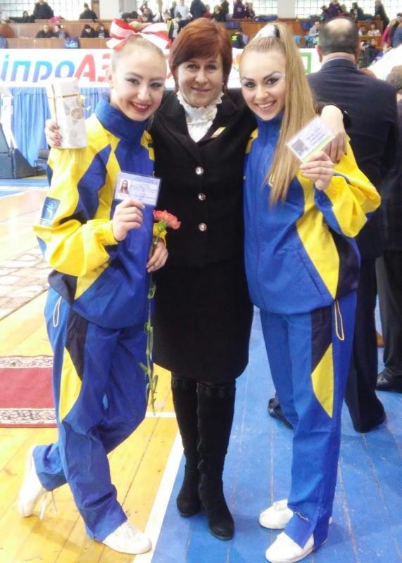 Гаврушко-Наумова с тренером
