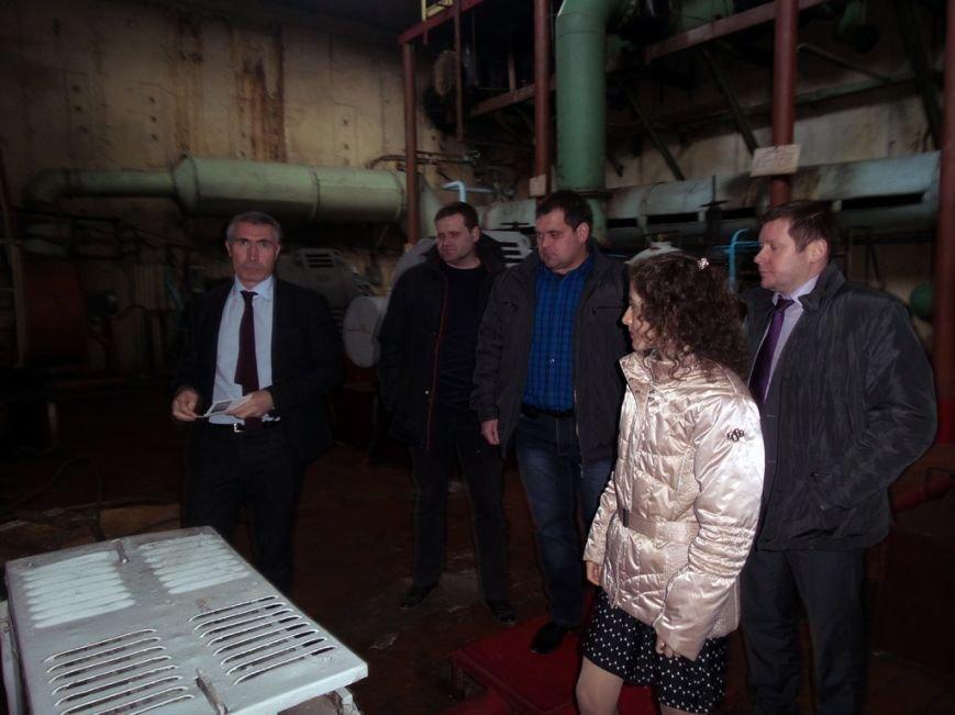 На Днепродзержинском водоканале побывали гости из Европейского инвестбанка, фото-1