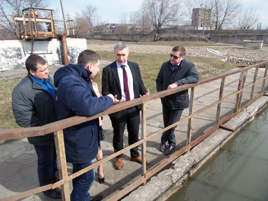 На Днепродзержинском водоканале побывали гости из Европейского инвестбанка, фото-2