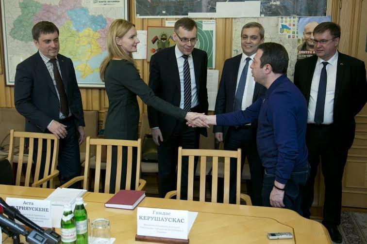 Геннадий Корбан встретился с замминистра иностранных дел Литовской Республики (фото) - фото 3