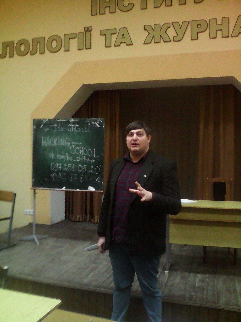 Наймолодший радник екс-президента Грузії запросив студентів Житомира в Клуб молодих реформаторів (фото) - фото 1