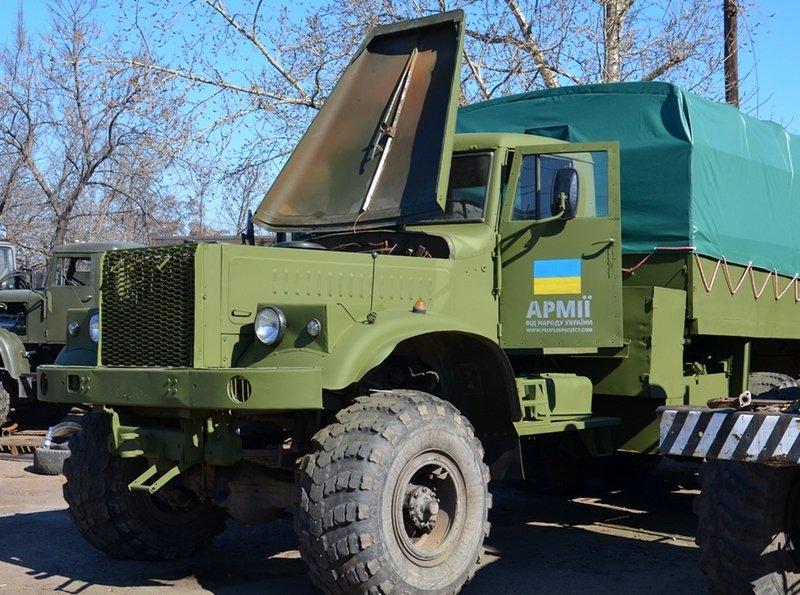 Волонтеры Николаева отремонтировали два грузовика для военных (ФОТО) (фото) - фото 3