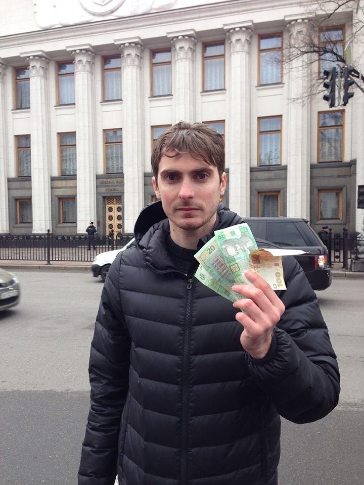 Чиновник смог получить деньги на оппозиционном митинге (ФОТОФАКТ), фото-2