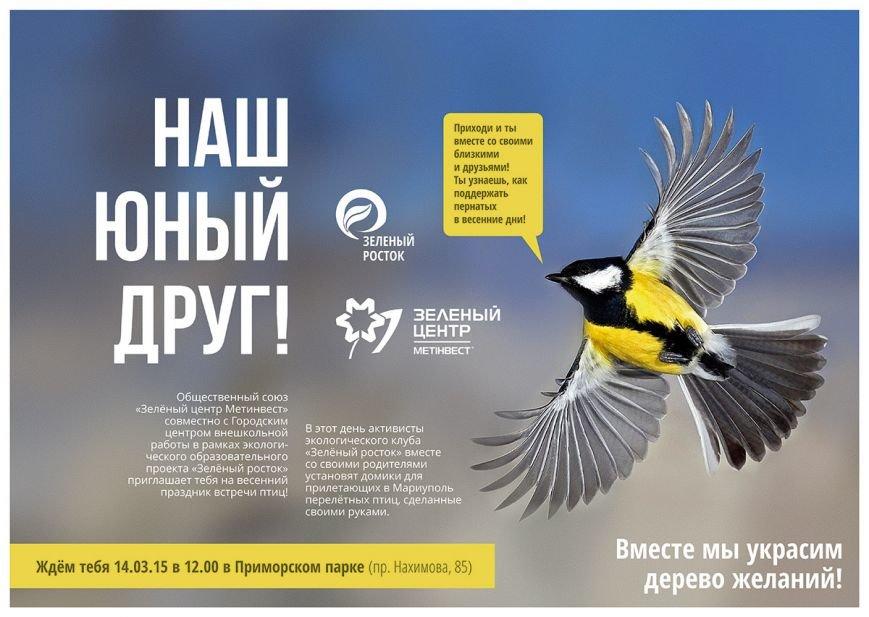 В Мариуполе встретят перелетных птиц, фото-1