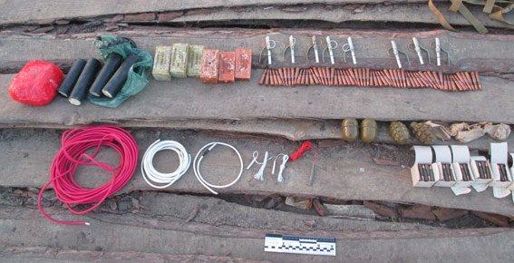В Запорожской области подвели итоги операции «Оружие и взрывчатка» (ФОТО) (фото) - фото 1