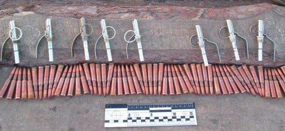 В Запорожской области подвели итоги операции «Оружие и взрывчатка» (ФОТО) (фото) - фото 3