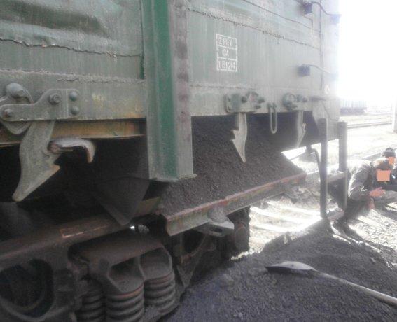 На железнодорожной станции Доброполье правоохранители предотвратили кражу четырех тонн угля (ФОТО) (фото) - фото 4