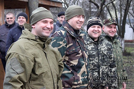 Волинські оперативники нестимуть службу на блокпості поблизу Донецька (ФОТО) (фото) - фото 1