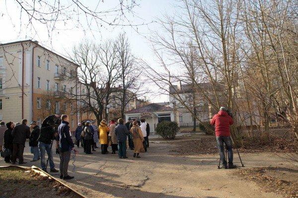 В Витебске обсудили благоустройство площадки у областной библиотеки в рамках проекта «Зеленый город», фото-1