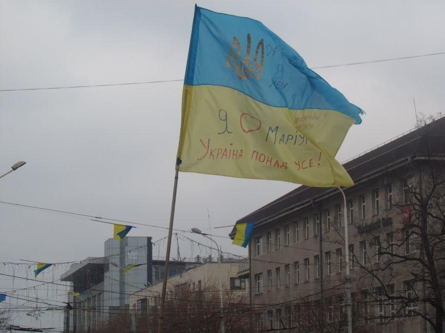 Мариупольцы стали живой цепью вокруг Драмтеатра ради мира в Украине (ФОТО+ВИДЕО), фото-7