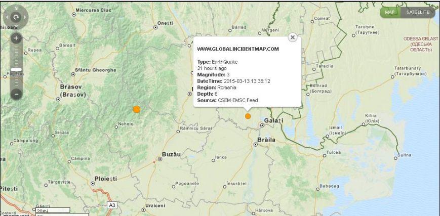 В Одесской области произошло два землетрясения (фото) - фото 1