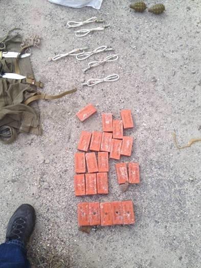 В Часов Яре сотрудники СБУ выявили тайник диверсантов с оружием и взрывчаткой, фото-3