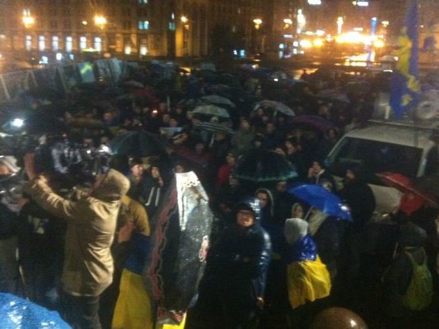 На Майдані вшанували пам'ять убитого донецького активіста (фото, відео) (фото) - фото 3