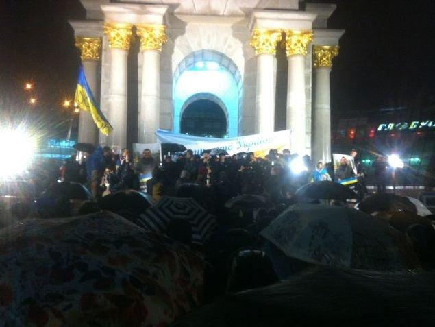 На Майдані вшанували пам'ять убитого донецького активіста (фото, відео) (фото) - фото 1