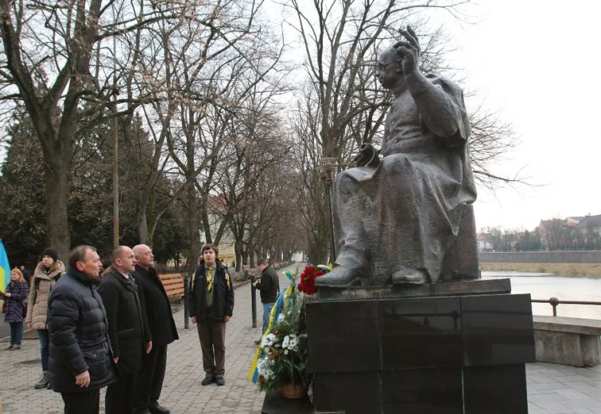 В Ужгороді влада відзначила 76-ту річницю проголошення Карпатської України (ФОТО), фото-5
