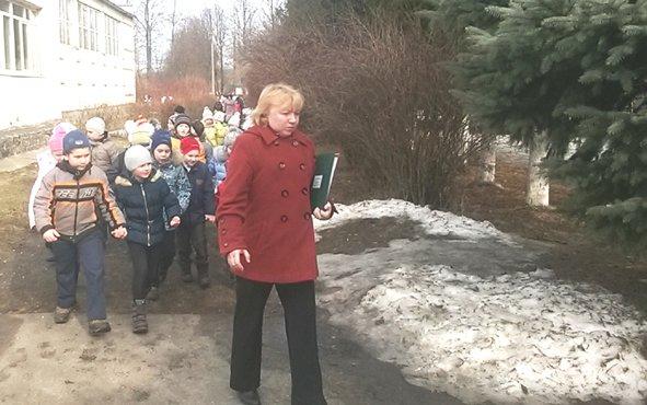 В Краснопутьской школе Домодедово успешно прошла тренировка по пожарной эвакуации (фото) - фото 1