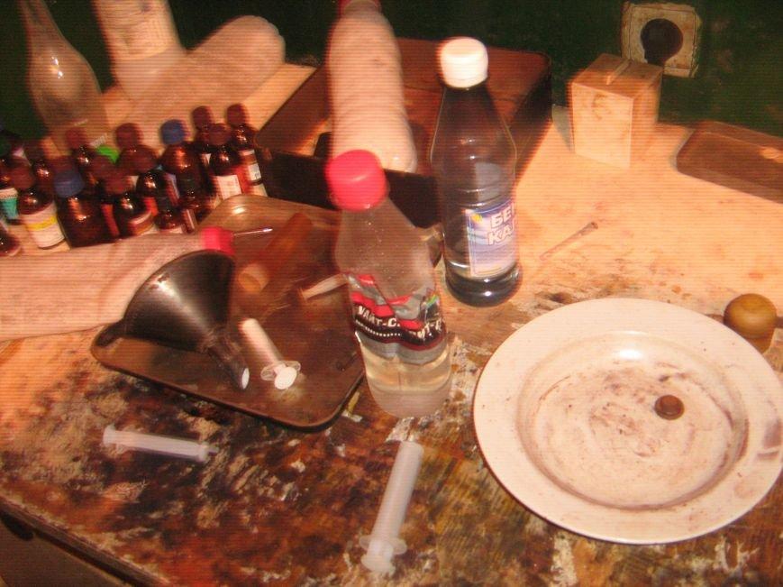 В Артемовском районе «накрыли» наркопритон, фото-2