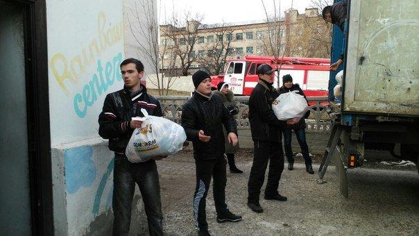 В Артемовском территориальном центре начали выдачу продуктовых наборов для переселенцев, фото-3