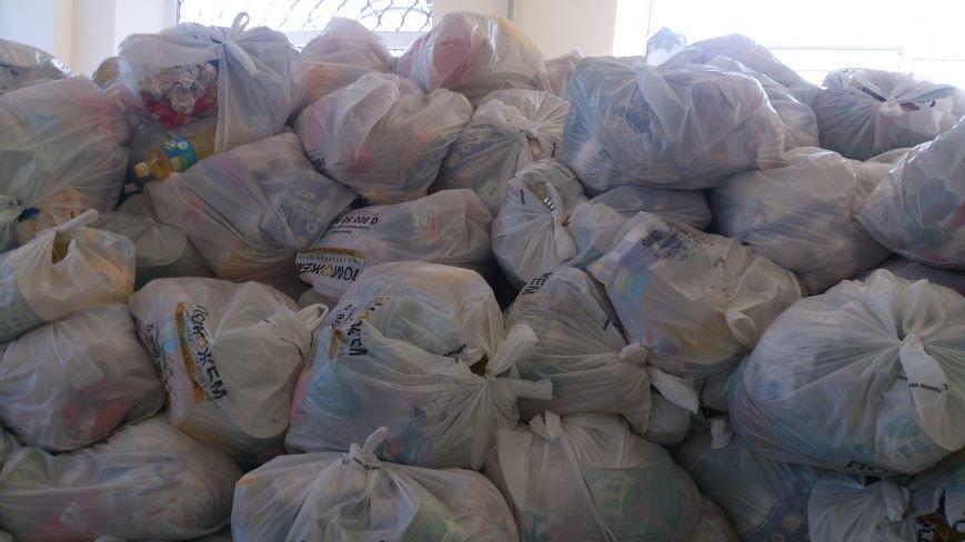В Артемовском территориальном центре начали выдачу продуктовых наборов для переселенцев, фото-4