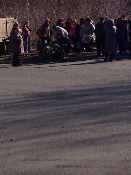 В Константиновке БТР сбил насмерт ребенка (фото) - фото 1